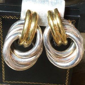 Vintage David Varsano Italy Sterling Silver Clips
